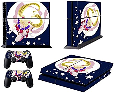 Video Game Accessories Nice Sony Ps4 Pro Skin Decal Sticker Vinyl Wrap Sailor Moon Pretty Guardian