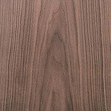 "Edge Supply Walnut Wood Veneer Sheet Flat Cut, 24"" x 96"", 10 mil Paper Back, ""A"" Grade Veneer Face – Easy Apply with Conta..."