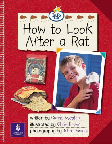 Info Trail Emergent Stage How to look after a rat Non-fiction (LITERACY LAND)の詳細を見る