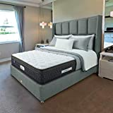 Springfit Pro Activ Plus Euro Top Model Orthopedic Memory Foam Back Support Premium Bed Mattresses 6 Inch- Queen Bed Size (78x60x6 Inch, Memory Foam)