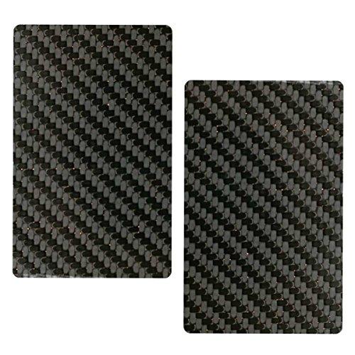 DECADENT MINIMALIST カーボンファイバー RFID電磁波遮断カード スキミング防止 カード干渉防止 お徳用2枚セット