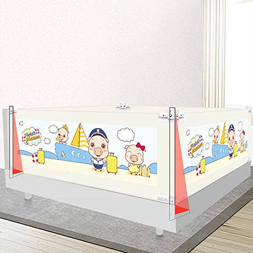 Amazing Deal Dertyped Child Bed Fence Crib Off Universal Bed Crib Guardrail Fall On Baby Border Adju...