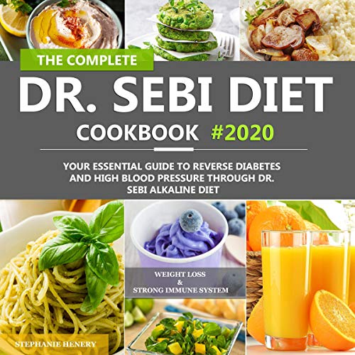The Complete Dr. Sebi Diet Cookbook  By  cover art