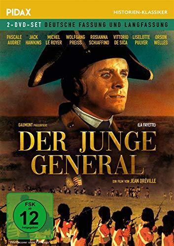 Der junge General (La Fayette) / Aufwändiges Historienepos mit internationaler Starbesetzung (Pidax Historien-Klassiker) [2 DVDs]