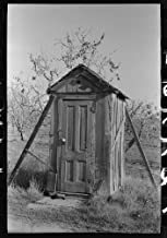 photo of an outhouse