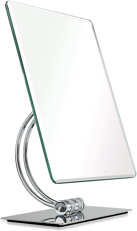 SLH Makeup Mirror Desktop Mirror HD Desktop Mirror Counter Home Beauty Makeup Mirror
