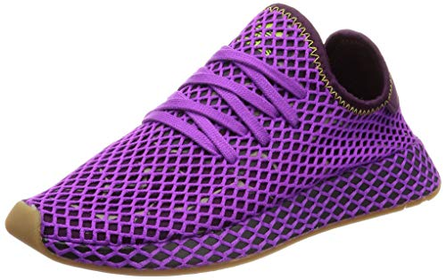 adidas Originals Deerupt Runner, Shock Purple-Red Night-Shock Yellow, 13,5
