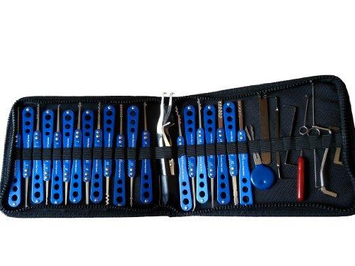 Picklock24- Set de ganzúas de alta calidad (20piezas)