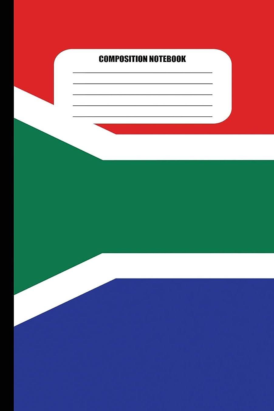 スーツケース私のケニアComposition Notebook: Flag of South Africa (100 Pages, College Ruled) (Flags of the World)