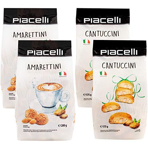 Amarettini Cantuccini Mischpack italienische Spazialität Aprikosenkern Amaretti di Saronno Mandel Biscotti di Prato