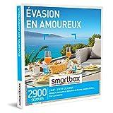 SMARTBOX - Coffret Cadeau Couple - Idée cadeau original : Séjour romantique à deux pour un moment d'évasion inoubliable