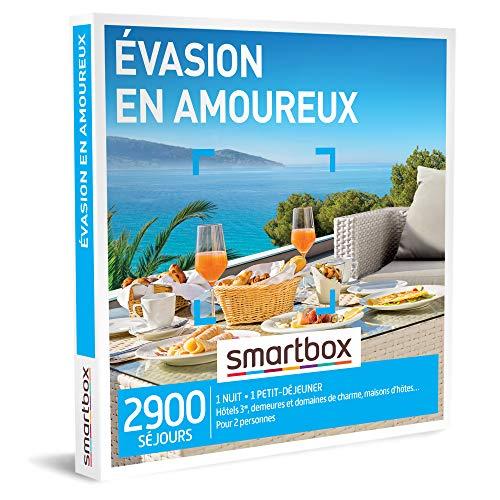 Coffret Smartbox Évasion en amoureux