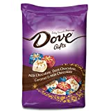 DOVE Candy Gifts Silky Smooth Chocolate Promises Variety Mix Christmas Candy, 24 oz.