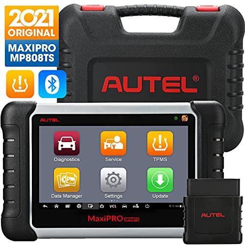 7- El maletín de diagnóstico de coche multimarca Autel Maxipro MP808TS