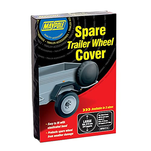 Maypole 94710 DP Trailer Wheel Cover, 10-inch