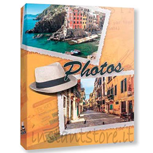 ZEP Album Fotografico 300 Foto 13x19 13x18 Raccoglitore a Tasche Portafoto a Fantasie Cappello con Etichette memo