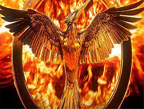 5D diamante bordado punto de cruz Phoenix cuadrado diamante pintura animal mosaico artista decoración del hogar artesanía