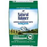 Natural Balance L.I.D. Limited Ingredient Diets Dry Dog Food, 24 Pounds, Lamb & Brown Rice Puppy Formula