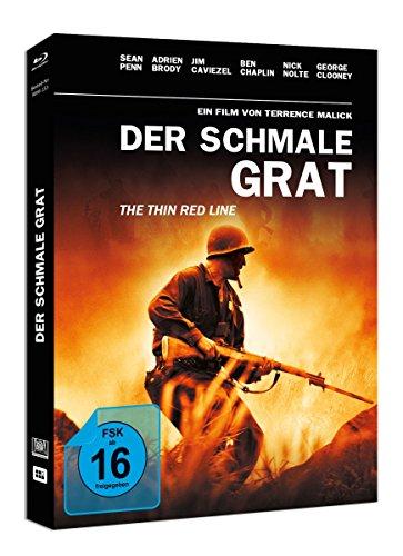 Der Schmale Grat (Mediabook + Original Kinoplakat) [Blu-ray] [Limited Edition]