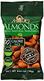 Whole Natural Nonpareil Almonds. The Healthy Snack, 100 Calorie Bags and 31 Day Dispenser Gluten Free; Non GMO; Kosher Certified