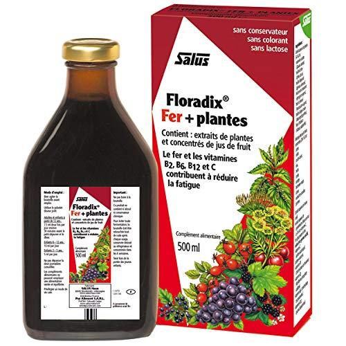 SALUS FLORADIX - Tonique Floradix Fer + Plantes 500Ml