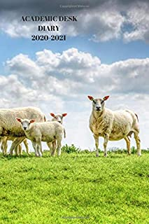 ACADEMIC DESK DIARY 2020-2021: A5 Diary Starts 1 August 2020 Until 31 July 2021.agriculture. Paperback With Soft Water Rep...