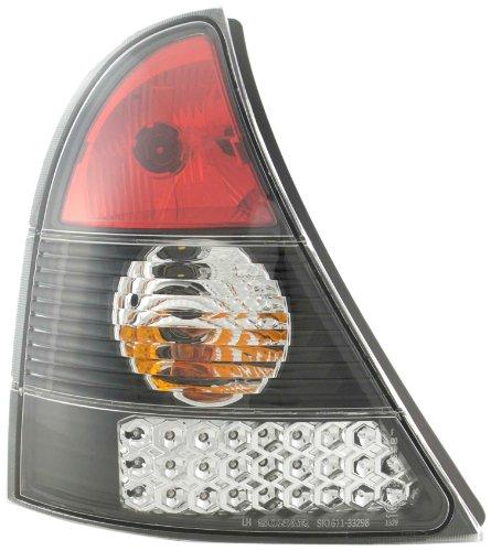 FK Automotive FKRLXLRN8007 LED achterlichten zwart