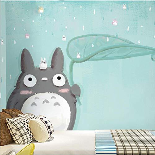 WWMJBH Papel Pintado Autoadhesivo (W) 520X (H) 290Cm3D Gato Anime Papel Tapiz De Dibujos Animados Mural Póster De Pared 3D Mural Foto Niños Niño Niña Dormitorio Arte De La Pared Sala De Estar T