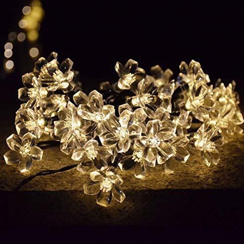 Z.L.FFLZ Luces Las Luces solares for el jardín de la Navidad Decoración...