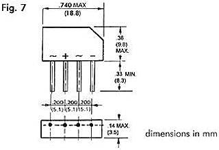 250/V 1.5/Amp Perel 139230/Puente rectificador