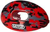 Battle Sports Oxygen Camo Limited Edition, Red camo, Adult/Youth