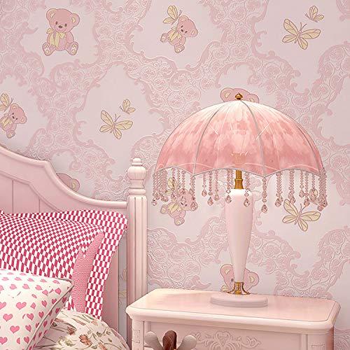 Vliestapetenschlafzimmer-Hintergrundtapete des Mehrfarbenbären
