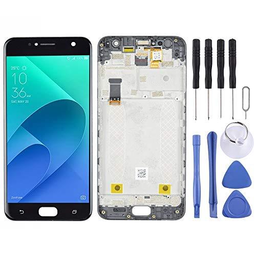 Mingxian Pantalla LCD y digitalizador Asamblea con Marco Completo for ASUS Zenfone 4 Selfie ZB553KL X00LD X00LDA (Negro) (Color : Black)