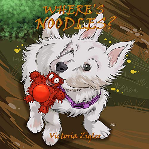 Where's Noodles? audiobook cover art