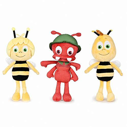 Play by Play Pack DE 3 Peluches LA Abeja Maya Amigo Willie Y