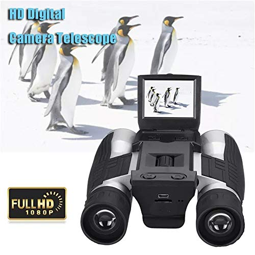 Affordable XUROM Binoculars HD Digital Camera Telescope Full HD 1080P 12x32 LCD Display UV Coated Op...