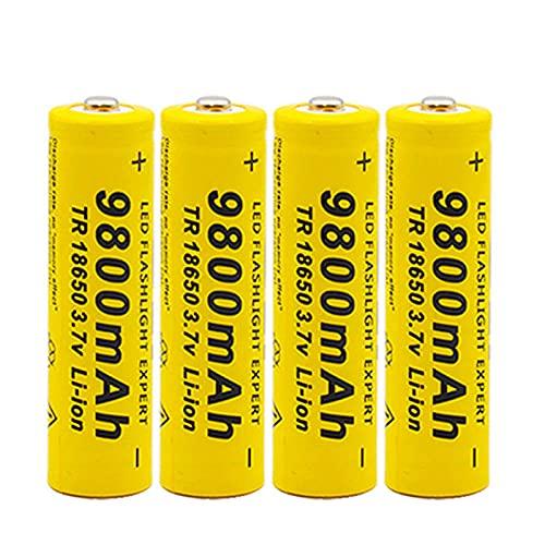 18650 batería de Iones de Litio 9800Mah batería Recargable 3 7V para...