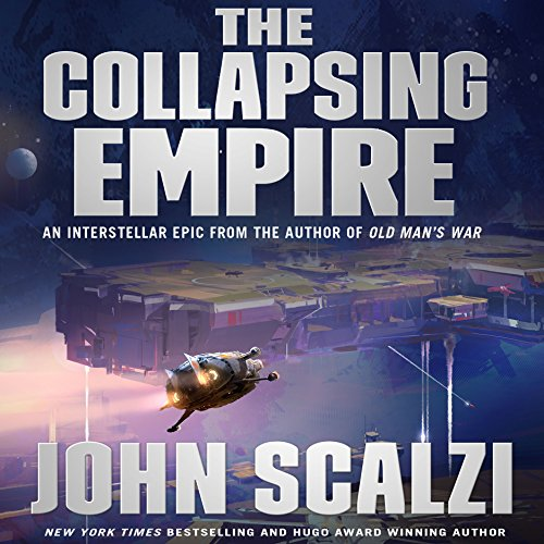 The Collapsing Empire audiobook cover art