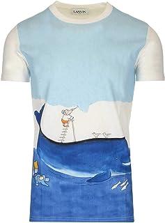 LANVIN Luxury Fashion Mens RMJE0026JB05P2000 Multicolor T-Shirt | Spring Summer 20