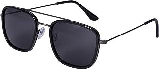 SIX - Gafas de sol para hombre con diseño de aviador, resistentes, filtro UV400 y lente de categoría 3 (437-536)
