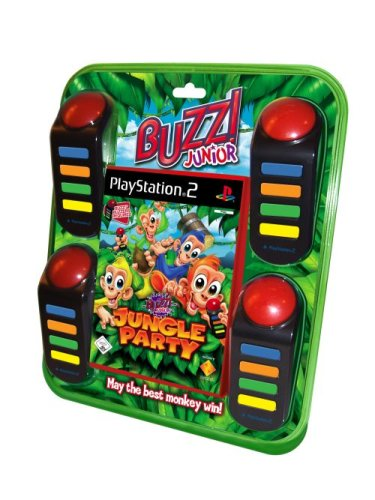 BUZZ! Junior: Jungle Party inkl. 4 Buzzer