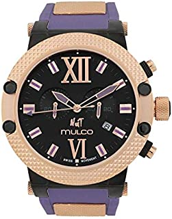 Relógio Unissex Mulco Nuit Link Ronda Purple MW3-11010-055