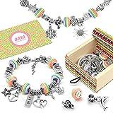 BIIB Charm Armband Kit DIY - Geschenk für Mädchen Teens, Schmuck Bastelset Mädchen,...