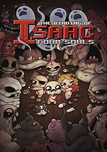 Studio 71, LP - Gioco di carte The Binding of Isaac: Four Souls (lingua italiana non garantita)