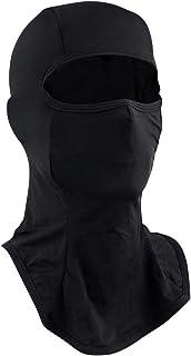 Biqing Kominiarka osłona twarzy chłodząca motocykl kominiarka lód jedwab nakrycie głowy wiatroszczelna kominiarka czarna n...