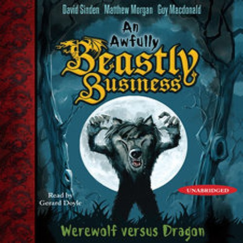 Werewolf versus Dragon audiobook cover art