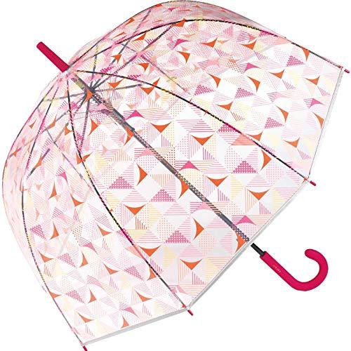 Esprit Automatische paraplu klok paraplu doorzichtig transparant Triangle