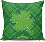 GYYbling Throw Pillow Covers 16'x 16' Happy St. Patrick's Da