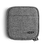 UPPERCASE ORGANIZER 5.0 Small Portable Electronics Accessories Travel Storage Pouch Compatible with MacBook Chargers and Other Tech Gears, Gadgets, Cables, Cords, USB Drives, Earphones New Black Label