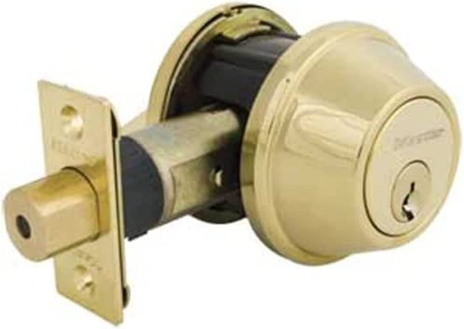 Master Lock Some reservation DSNRN0603PBOX Nightwatch Deadbolt Over item handling ☆ Cyl Bump Stop with